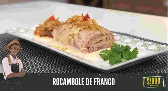Aprenda a preparar Rocambole de Frango com o Chef Rivandro França do Sabor da Gente