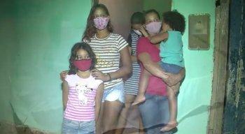 Pandemia da covid-19 deixou a família com grandes dificuldades financeiras