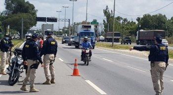 Expectativa é de que haja um aumento na movimentação das rodovias que cortam o estado de Pernambuco