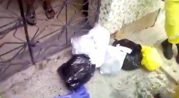 O vídeo do gari para pedir o descarte correto do lixo viralizou