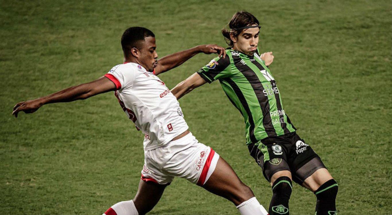 Náutico perdeu para o América-MG por 2 a 0