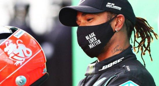 F-1: Hamilton chega a 91 vitórias e iguala recorde de Schumacher