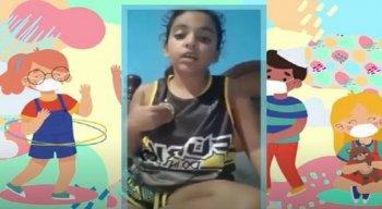 Larigol, tem 10 anos e é moradora do Vasco da Gama, na Zona Norte do Recife.