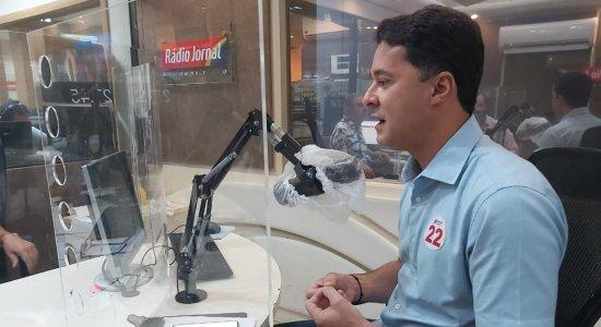 Buscando a reeleição, Anderson Ferreira (PL) diz que Bolsonaro tem ajudado Jaboatão