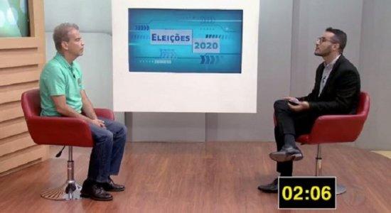 Sabatinas TV Jornal: Coronel Feitosa fala sobre experiência e projeto de governo