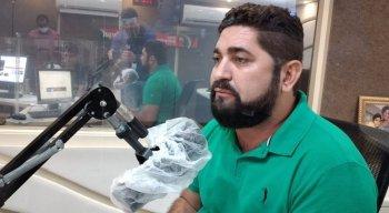 Candidato Daniel Alves (MDB) à Prefeitura de Jaboatão dos Guararapes, participou de sabatina na Rádio Jornal