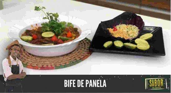 Receita de Bife de Panela do Chef Rivandro França do Sabor da Gente