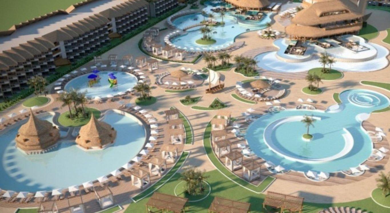 O parqueAcquaventura será construído em uma área total de 159,5 mil metros quadrados e começará a funcionar em 2022