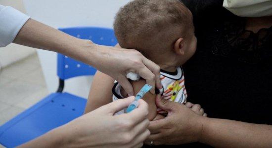 Campanha Nacional de Vacinação contra a Pólio termina nesta sexta (30)