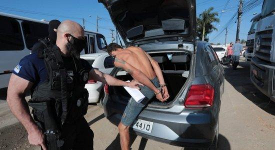 16 pessoas são presas em três operações da Polícia Civil em Vitória de Santo Antão