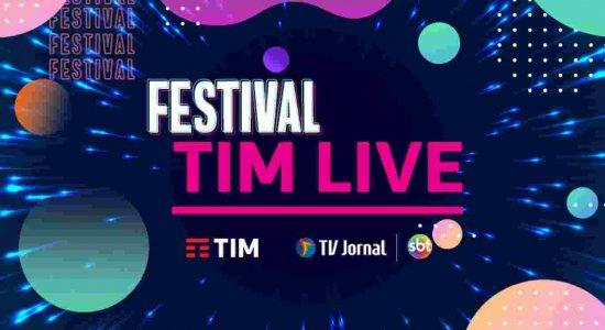 TIM LIVE e TV Jornal promovem festival que reunirá bandas pernambucanas num grande show online
