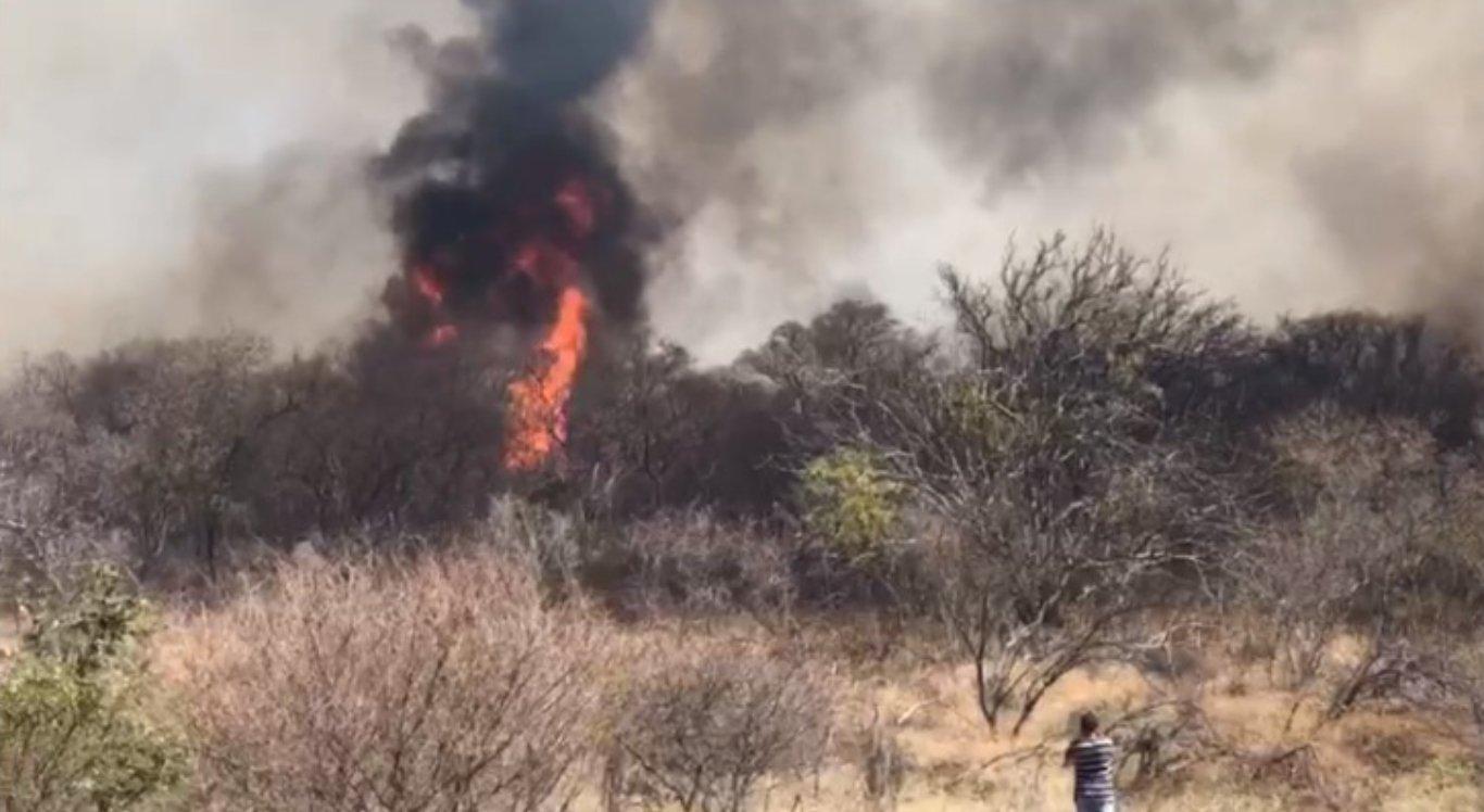 Diversos incêndios atingiram vários locais do Sertão
