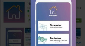 Aplicativo ''Habilitação Caixa'' liberado pela Caixa Econômica Federal para fazer financiamento habitacional