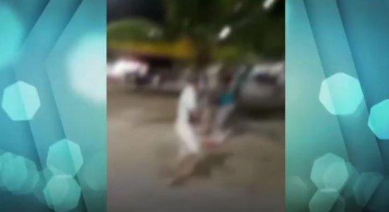 Vídeo: Homem é espancado após reclamar de som alto em festa no Janga