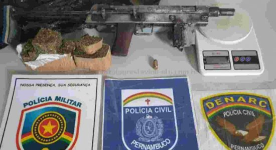 Adolescente é apreendido em Garanhuns com metralhadora caseira