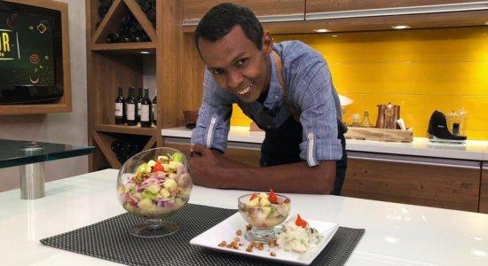Aprenda a fazer Ceviche com o Chef Rivandro França do Sabor da Gente
