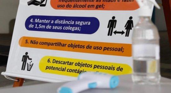 Retorno das atividades presenciais do ensino médio tem poucos alunos em Pernambuco