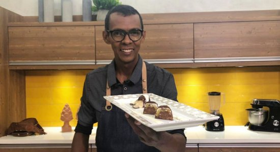 Receita de Bombons de Chocolate do Chef Rivandro França do Sabor da Gente