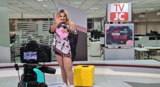 Quintas Musicais foi transmitido em todas as redes sociais da TV Jornal e também no Youtube da emissora