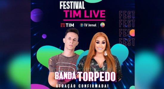Consagrada pelo público, Banda Torpedo promete agitar o Festival TIM LIVE da TV Jornal