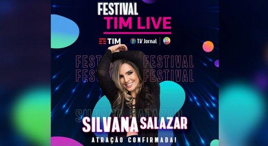 Silvana Salazar, a Rainha dos Casamentos, vai fazer a festa no Festival TIM LIVE da TV Jornal