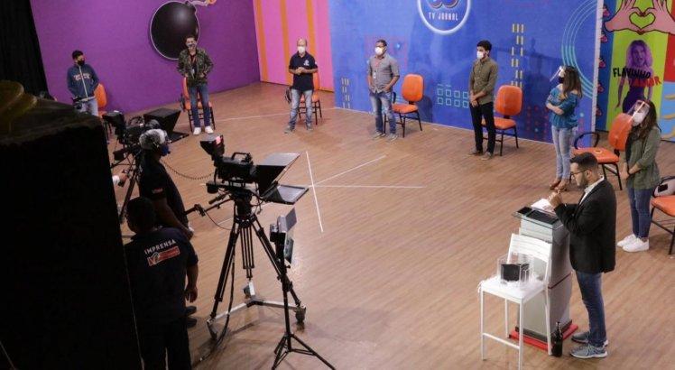 Os ensaios do debate da TV Jornal já começaram