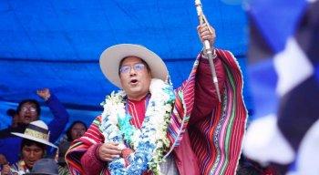 Luis Arce disse que a Bolívia