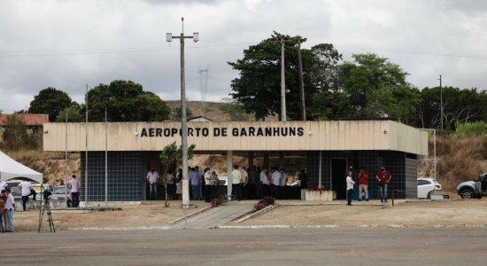 Aeroporto de Garanhuns, no Agreste de Pernambuco, será requalificado