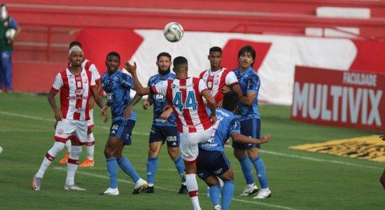 Náutico cede empate ao Cruzeiro e segue perto da zona de rebaixamento da Série B