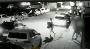 Alguns dos crimes foram flagrados por câmeras de segurança.
