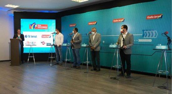 SJCC realiza primeiro debate com candidatos a prefeitos do interior do Estado