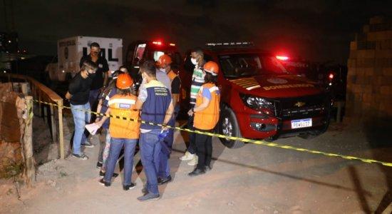 Homem morre após deslizamento de barreira durante obra no Recife