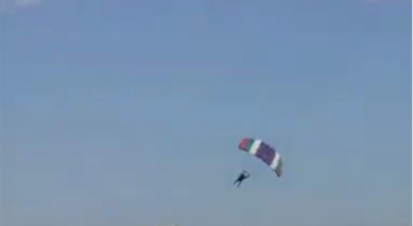 Paraquedista morre durante salto