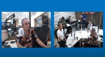 Candidato Marcos Freire Jr. à Prefeitura de Olinda participou de sabatina na Rádio Jornal.