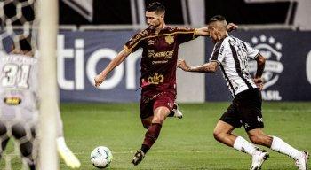 Thiago Neves foi titular do Sport contra o Atlético-MG