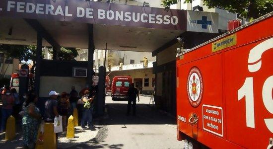 Morre 5º paciente transferido após incêndio do Hospital de Bonsucesso