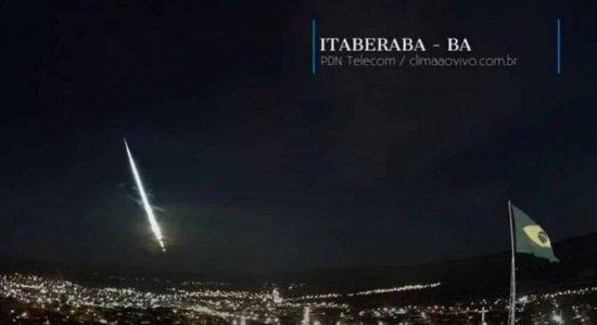 [Vídeo] Meteoro é visto em várias cidades da Bahia e assusta moradores