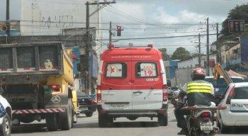O Samu relatou aumento nos atendimentos para casos suspeitos de covid-19 no Recife