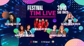 Bandas se preparam para o Festival TIM Live na TV Jornal