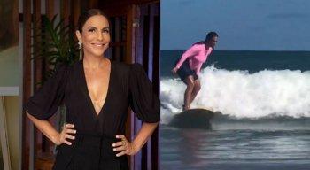 Ivete Sangalo confirmou que salvou a criança de afogamento em praia na Bahia