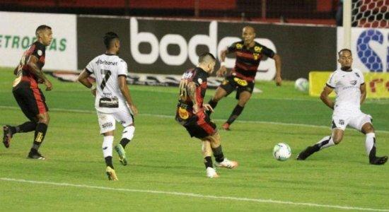 CBF altera data e horário da partida entre Ceará x Sport