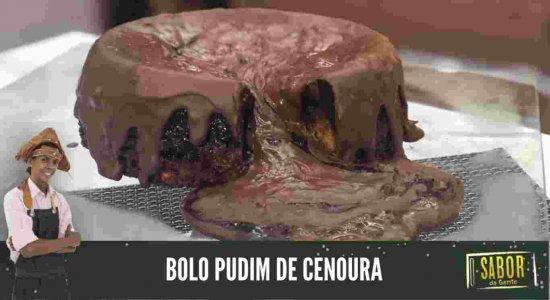 Aprenda a fazer Bolo Pudim de Cenoura com o Chef Rivandro França do Sabor da Gente