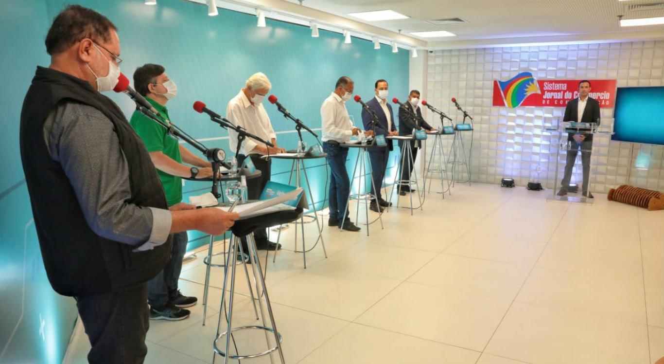 Debate dos candidatos à Prefeitura de Garanhuns