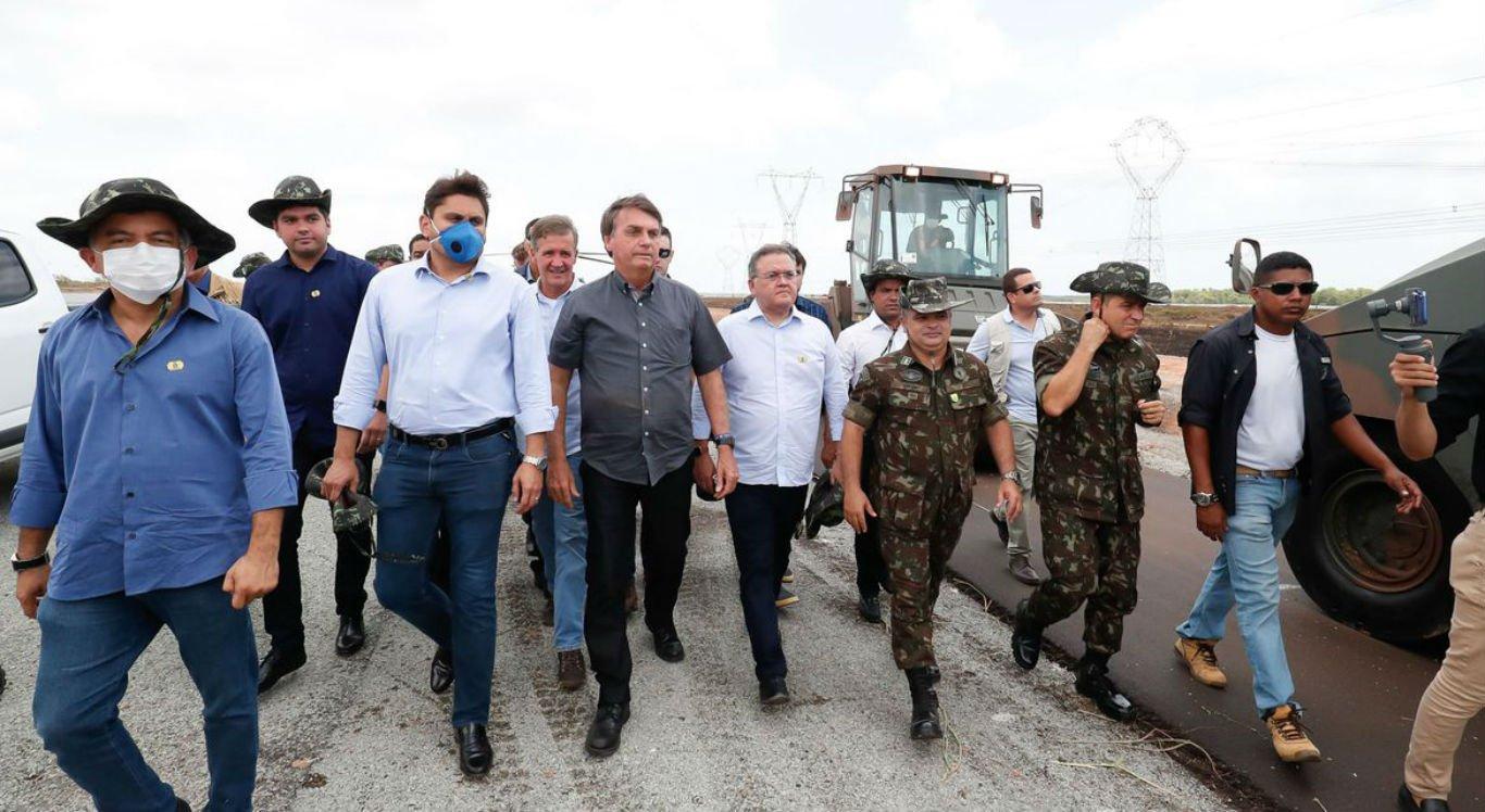 Visita de Bolsonaro ao Maranhão