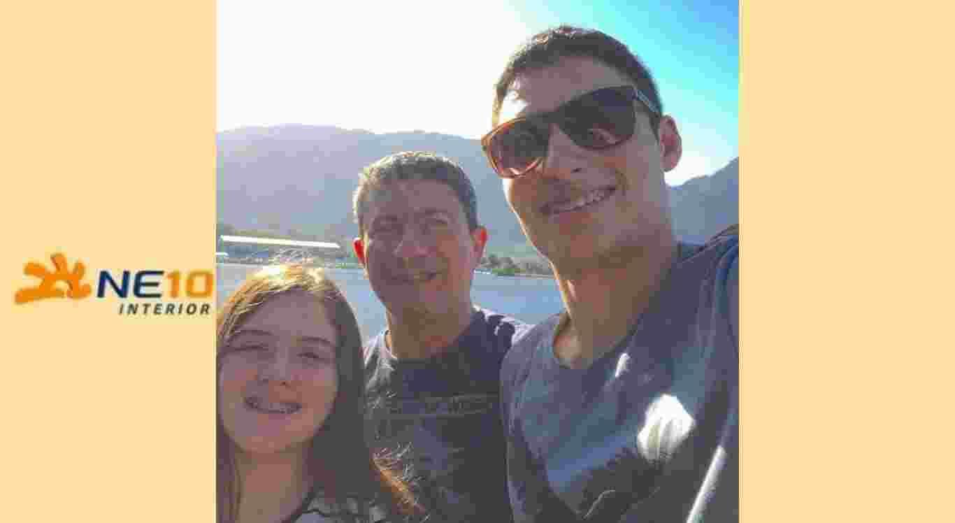 Alissa Veiga, Tom Veiga e Adrian