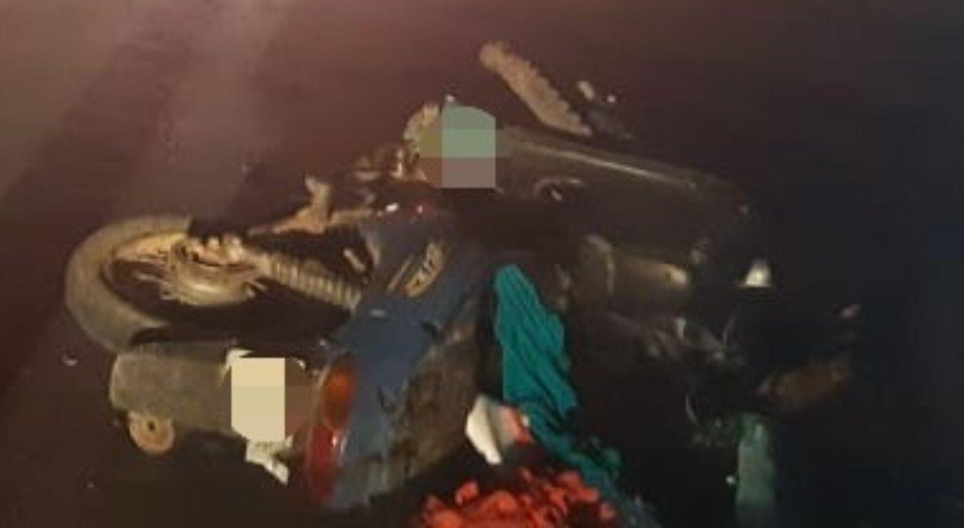 Casal morreu e homem ficou ferido após acidente