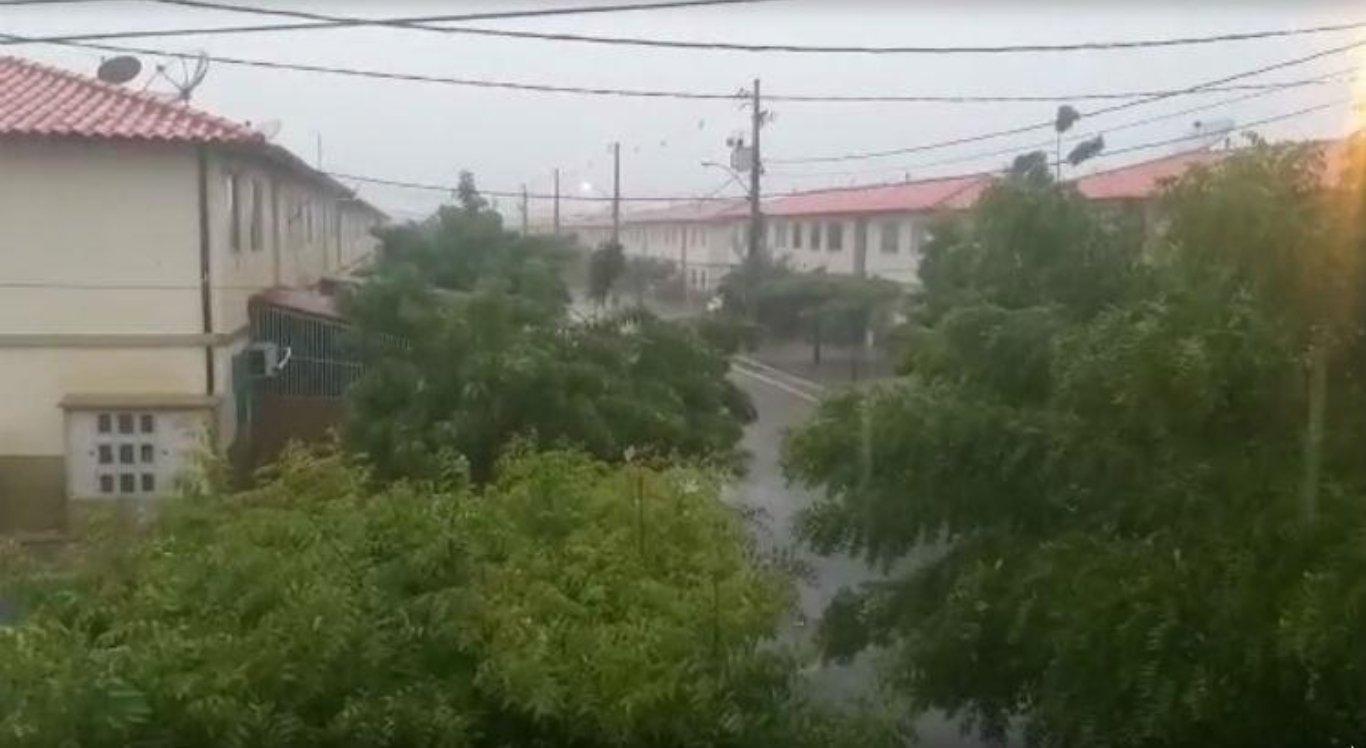APAC alerta para chuvas