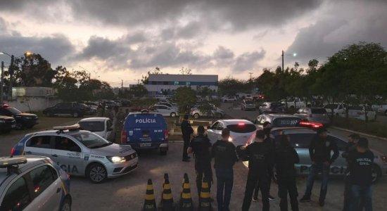 Polícia faz operações em Caruaru