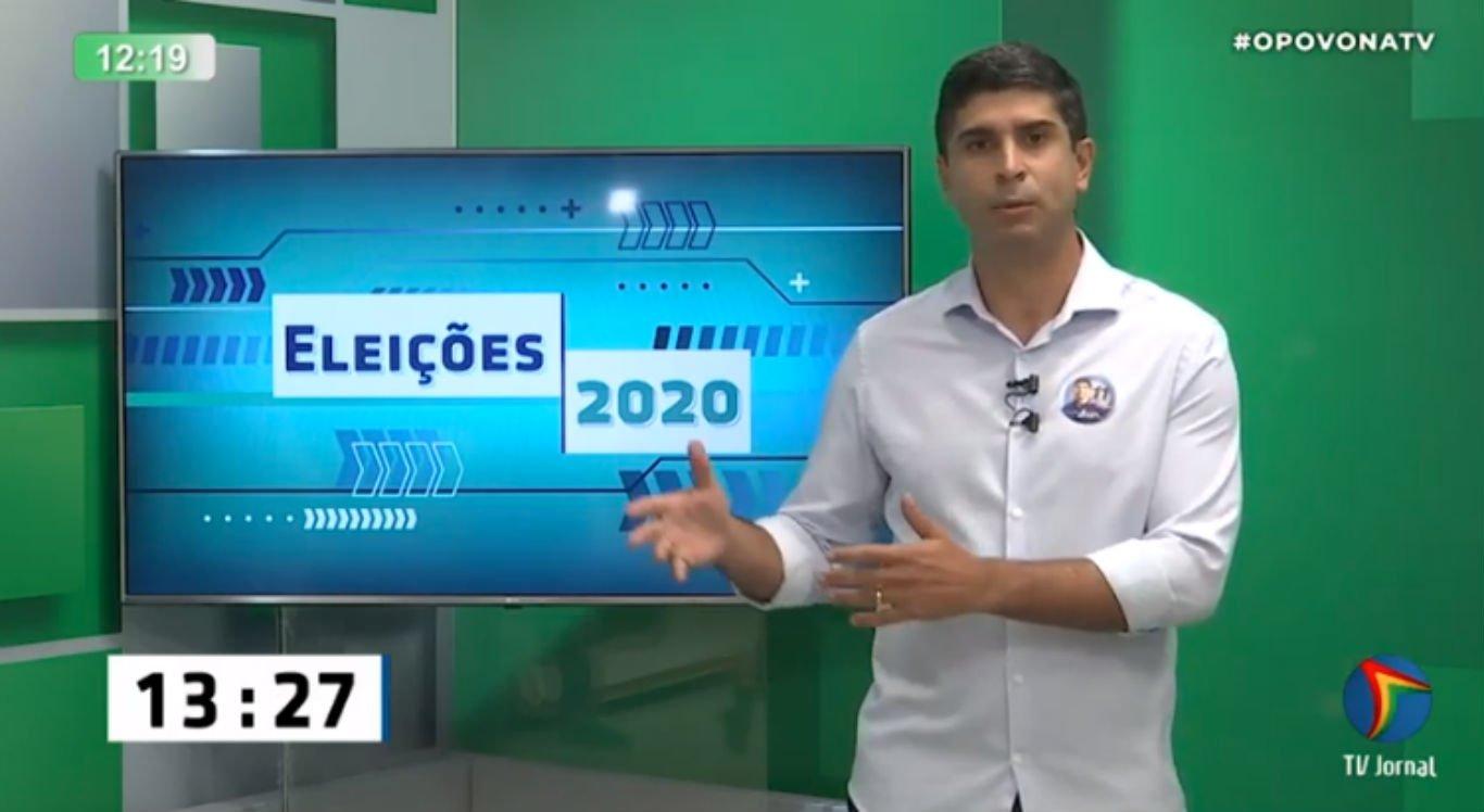 Delegado Lessa é sabatinado no Povo na TV