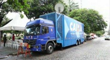 São cinco caminhões percorrendo todas as regiões do país, durante a campanha